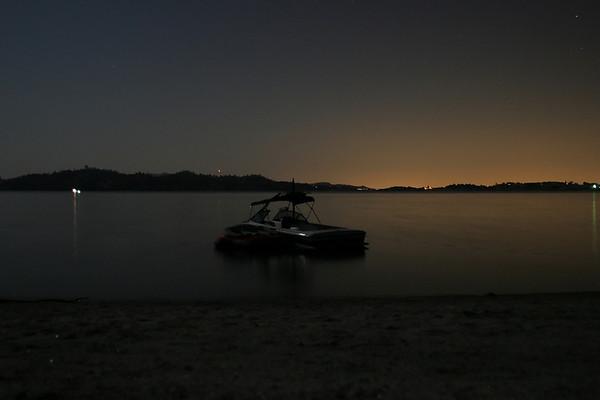 Camping Millerton Lake Aug09